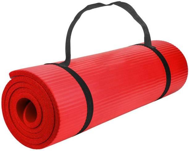 kluzie High Quality Yoga Mat Anti-slip Blanket PVC Gymnastic Mat Sport Health Red 6 mm Yoga Mat