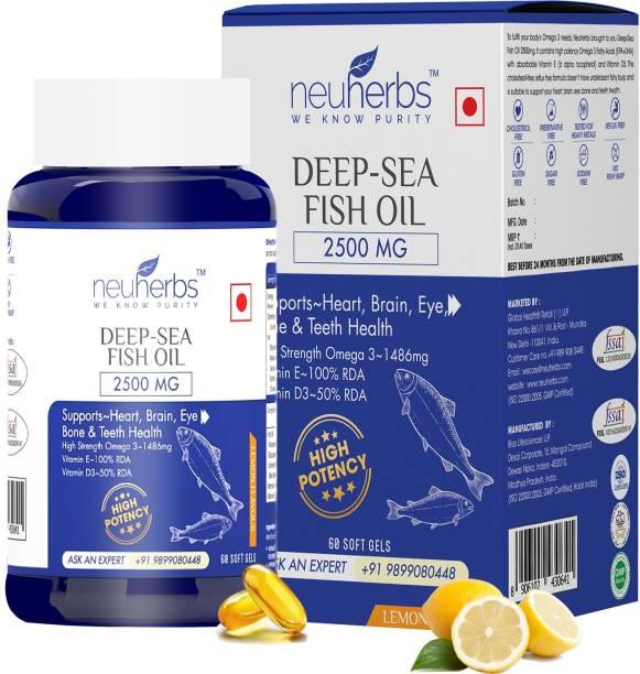 Neuherbs Deep Sea Fish Oil 2500mg