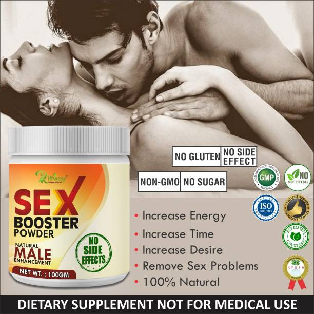 Riffway Sex Booster Powder For Enhancing Immunity 100% Ayurvedic