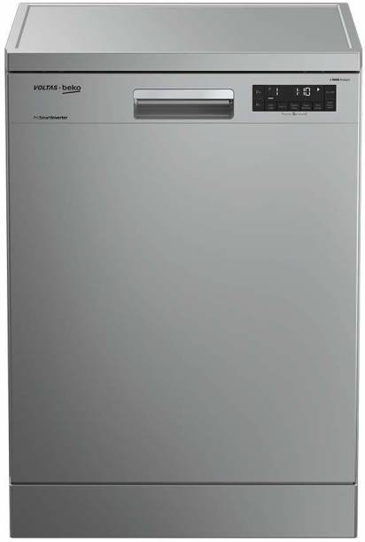 Voltas Beko DF14S2 Free Standing 14 Place Settings Dishwasher