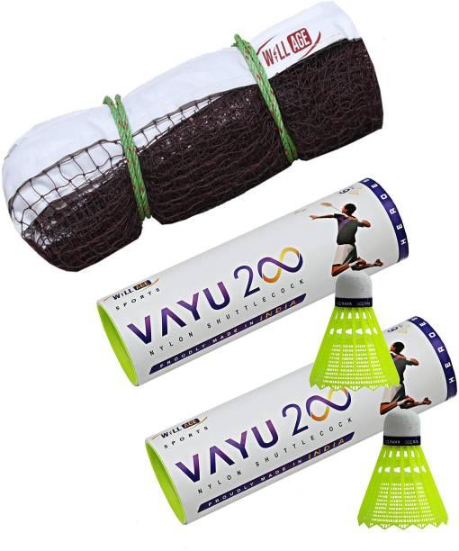 WILLAGE Badminton net , Badminton net nylon , Badminton net plastic Badminton Net