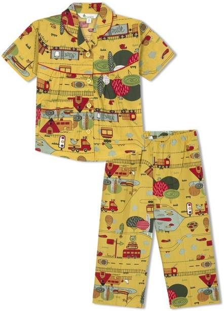c9aa4bede9 Green Apple Night Suits - Buy Green Apple Night Suits Online at Best ...