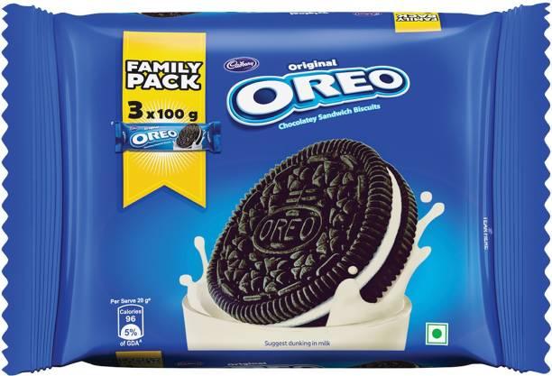 OREO Original Vanilla Chocolatey Sandwich Biscuits