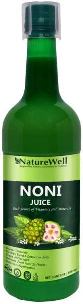 Naturewell Premium Noni Juice Natural Juice for Building Immunity and Digestion Booster I No Added Sugar
