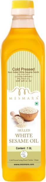Mesmara Cold Pressed Hulled White Sesame Oil (Virgin, Chekku / Ghani) Sesame Oil PET Bottle