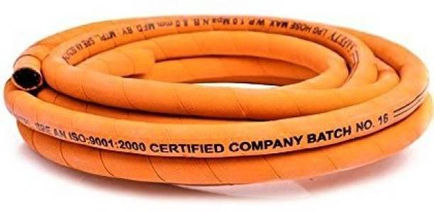 Indane 2 Meter Gas Pipe With Clump ISI CERTIFIED Hose Pipe