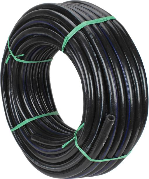 ANNA AGRO 3 Layered Heavy Duty Braided Water Hose Pipe with Spray Gun(Size : 1/2 Inch, Black) Easy to Connect, Garden,Car Wash, Floor Clean, Pet Bath 3 Layered Heavy Duty Braided Water Hose Pipe with Spray Gun(Size : 1/2 Inch, Black) Easy to Connect, Garden,Car Wash, Floor Clean, Pet Bath Hose Pipe
