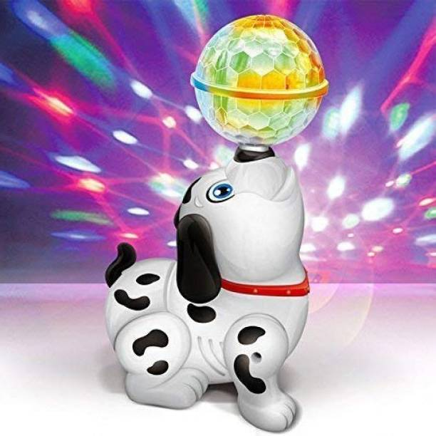 FRAONY Best Buy Dancing Smart Puppy Robot Dog Lighting Electronic Pets Musical Singing Walking Learning & Educational Dog Toy Best Gift For Kids