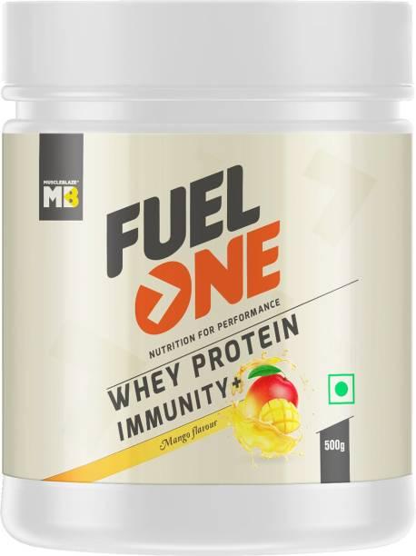 MUSCLEBLAZE Fuel One Whey Protein Immunity+, Mango Whey Protein