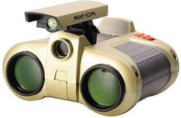 Easy Way F4543 Binocular with Pop-Up Light for Kids, Night Vision Binocular Set for kids Binoculars Night Scope and Night-Beam Vision,Zoom Binoculars Cool Toy Gift for Kids Binoculars (30 mm , Golden) Binoculars (30 mm , Golden) Digital Binoculars