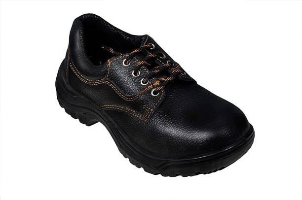 UK Leather Creation Shoe-7 Fiber Toe PVC Safety Shoe