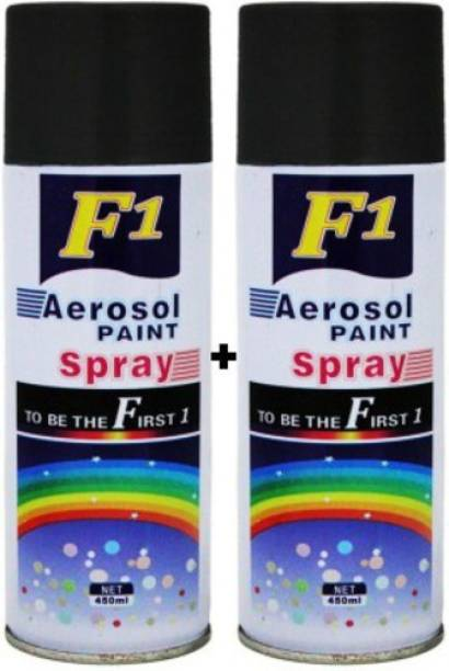F1 PREMIUM BLACK Spray Paint 900 ml