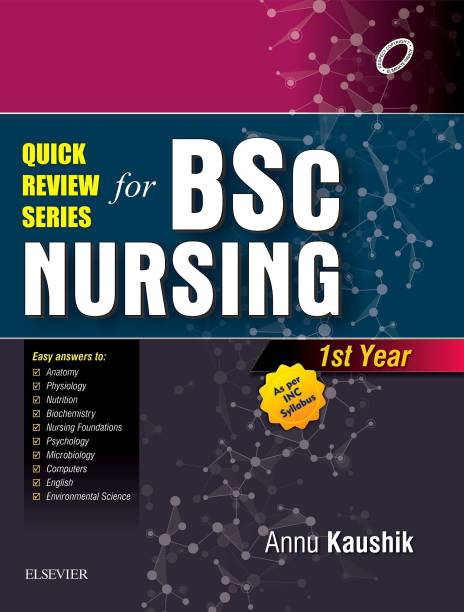 Quick Review Series For B.Sc. Nursing: 1st Year