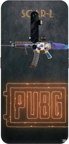 Snapcrowd Back Cover for Oppo Reno2z Pubg Scra-l Gun back cover