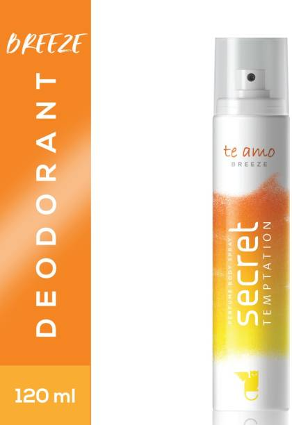 secret temptation Te Amo Breeze Perfume Body Spray  -  For Women