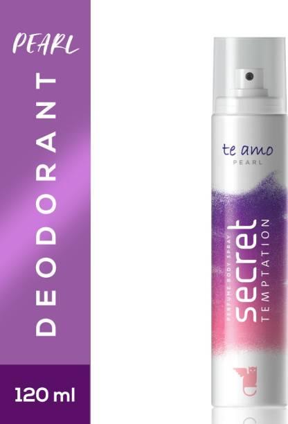 secret temptation Pearl Perfume Deodorant Spray  -  For Women
