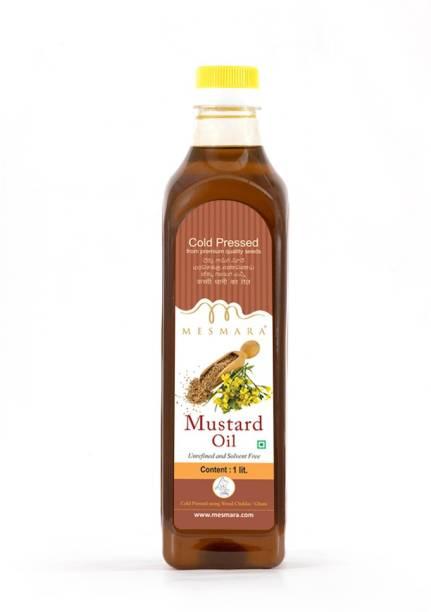 Mesmara Cold Pressed Mustard Oil Mustard Oil Plastic Bottle