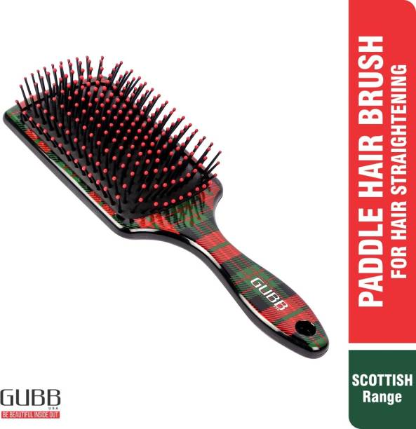 GUBB Paddle Hair Brush For Women/Men Professional Hair Styling (Scottish Range)