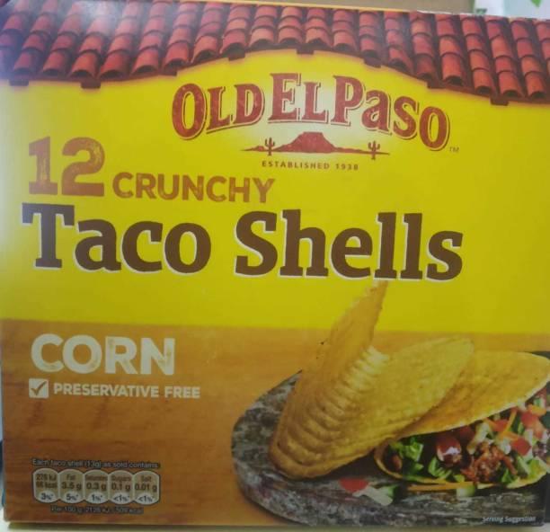 Old ELPaso 12 Crunchy Taco Shells Corn, 156g