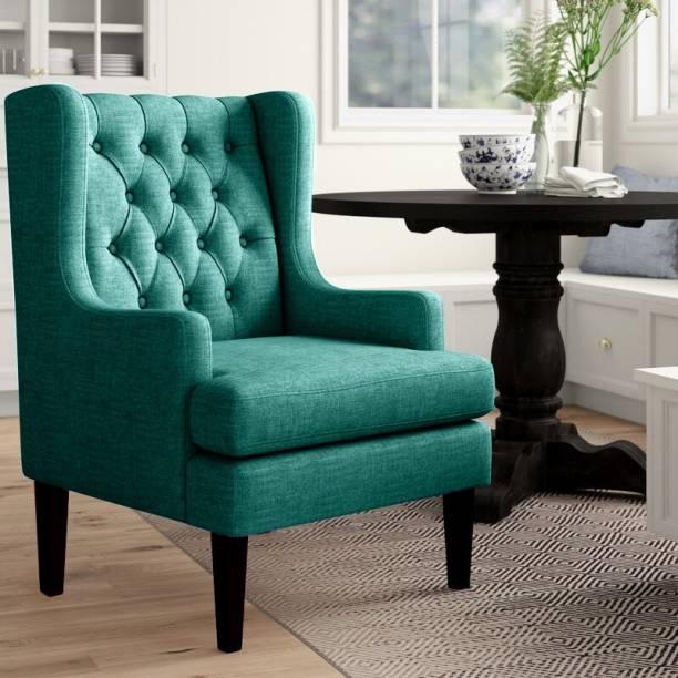 Febonic FLIZ Solid Wood Living Room Chair