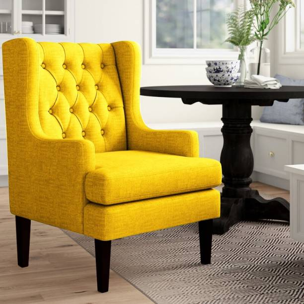 Febonic Solid Wood Living Room Chair