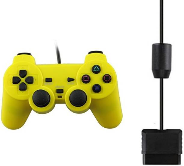 Clubics PS-2 Wired Controller Compatible With PS 2 Console (Yellow)  Motion Controller