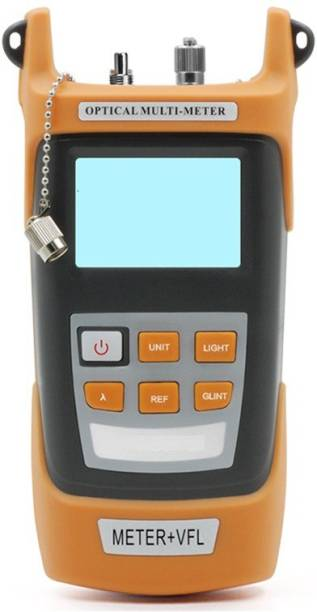 Techtest 2 in 1, optical power meter with laser, optical power meter fiber, +20 to -50dbm, visual fault locator 10mw, optical power meter, visual fault locator fiber optic cable tester, optical visual fault Digital Multimeter