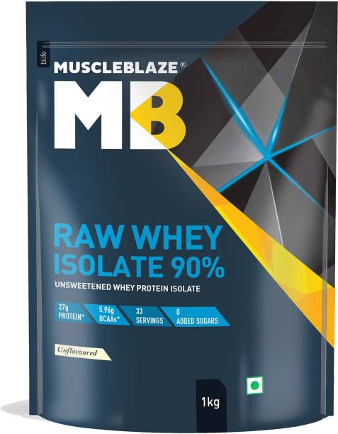 MUSCLEBLAZE Raw Isolate Whey Protein