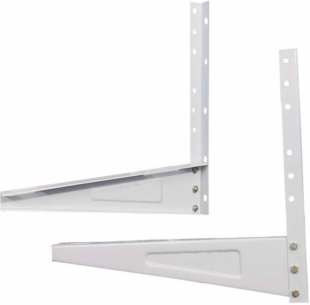 TWONE Heavy Duty Universal Split Air Conditioner Ac Outdoor Unit Wall Bracket For 0.8 Ton To 2.0 Ton 500mm x 160mm Shelf Bracket