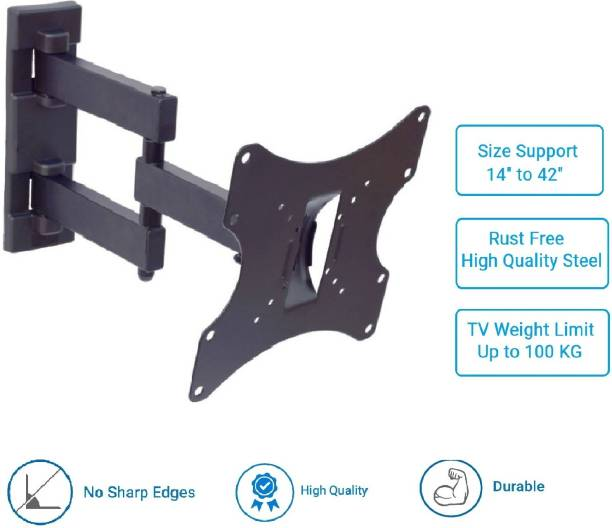 Sauran LCD/LED/PLASMA TV Swivel Type Movable Wall mount Bracket / Stand Full Motion TV Mount