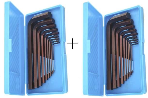 Inditrust Hex allen key set (Pack of 2) Allen Key Set