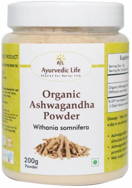 Ayurvedic Life Organic Ashwagandha Powder