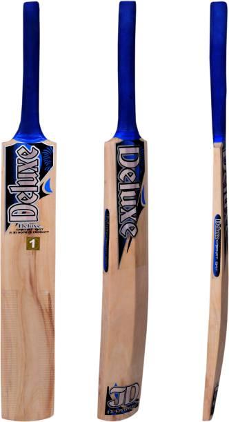 Deluxe Wooden Popular Willow Cricket Bat (Size 1 to 6) Poplar Willow Cricket  Bat