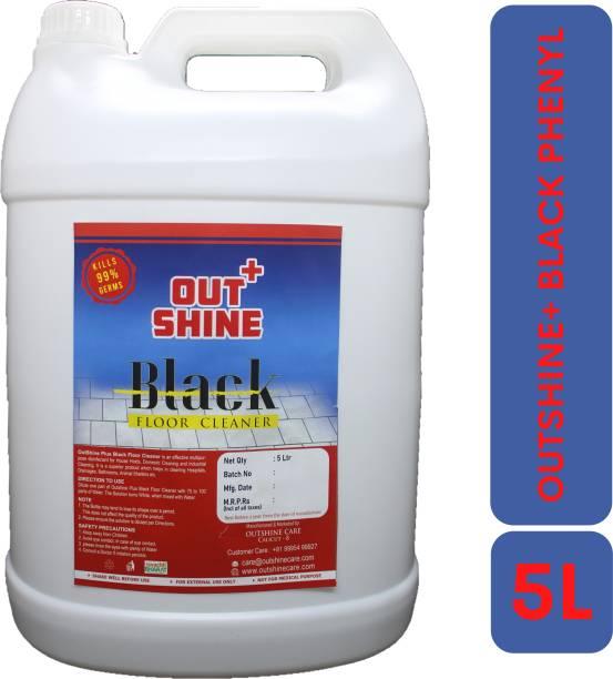 Outshine+ BLACK FLOOR CLEANER (BLACK PHENYL) 5L ORIGINAL