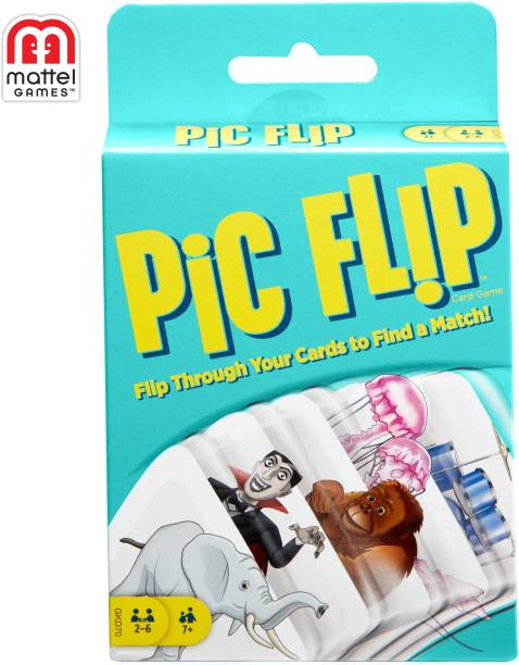 Games Pic Flip Card Game Party & Fun Games Board Game