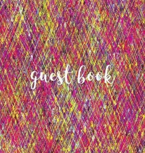 Guest Book (HARDBACK), Visitors Book, Guest Comments Book, House Guest Book, Party Guest Book, Vacation Home Guest Book