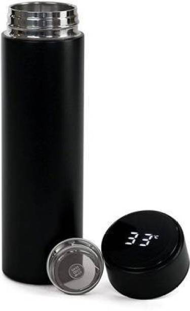 MAHI ENTERPRISE Thermos Bottle with LED Temperature Display 450 ml Flask