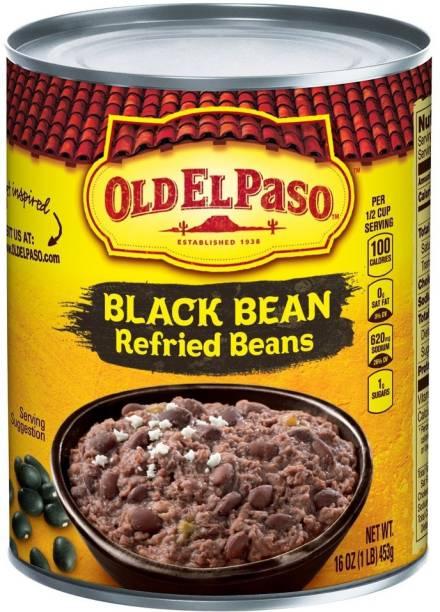 Old ELPaso Black Bean Refried Bean, 453g Beans
