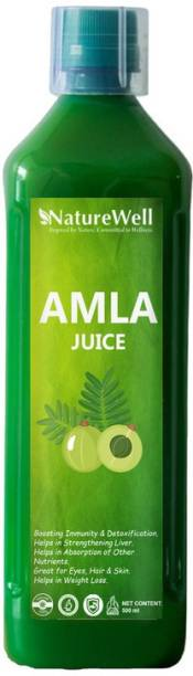 Naturewell Ultra Amla Juice Natural Juice for Building Immunity and Digestion Booster