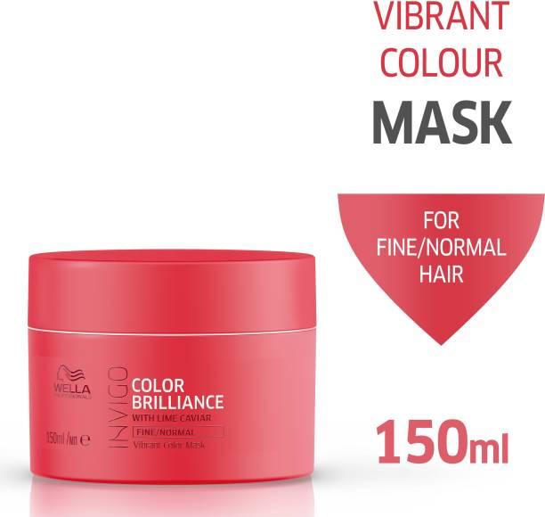 Wella Professionals Invigo Color Brilliance Mask, For Fine/Normal Hair