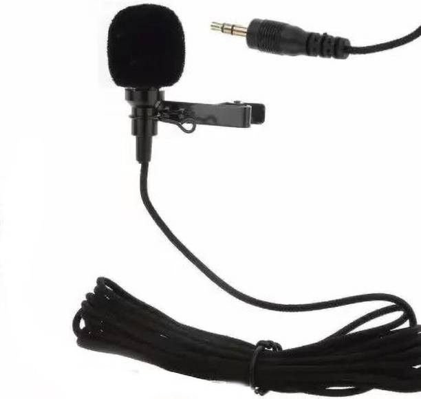mobspy Top Selling Trendy Mic 3.5mm Clip Microphone For Youtube | Collar Mic for Voice Recording | Lapel Mic Mobile, PC, Laptop, Android Smartphones, DSLR Camera Microphone Microphone collar mic