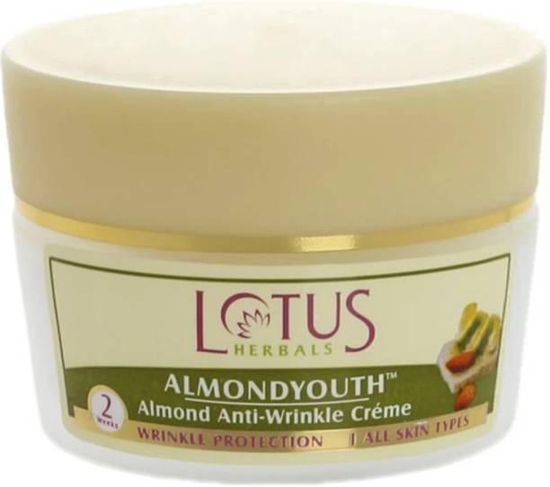 LOTUS HERBALS Almondyouth Almond Anti Wrinkle Creme