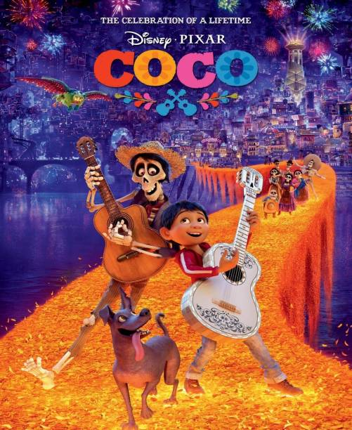 COCO (dual audio Hindi & English) HD print clear audio it's burn DATA DVD play only in computer or laptop it's not original without poster