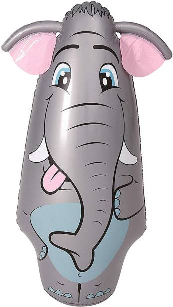 Miss & Chief Big Bop Elephant Punching Bag for Kids Inflatable HitMe Toys