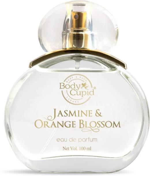 Body Cupid Jasmine & Orange Blossom Eau de Parfum - Floral collection -For Women - 100 ml Eau de Parfum  -  100 ml