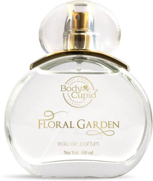 Body Cupid Floral Garden Eau de Parfum - Floral Collection - for Women - 100 ml Extrait De Parfum  -  100 ml
