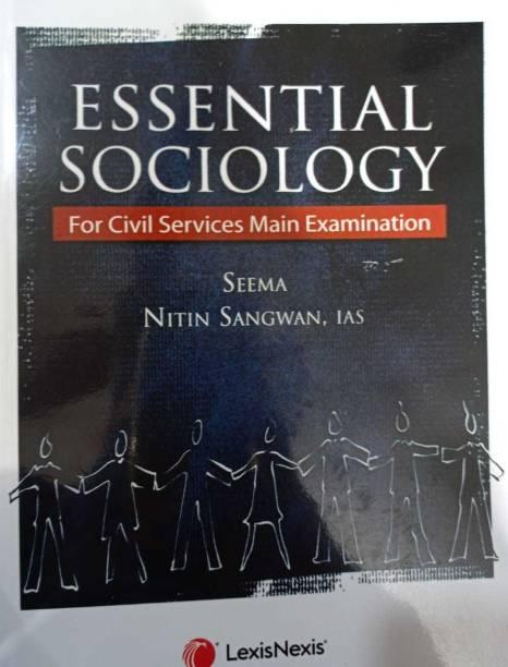 Essential Sociology - For Civil Services Main Examination (English, Paperback, Nitin Sangwan, Seema)