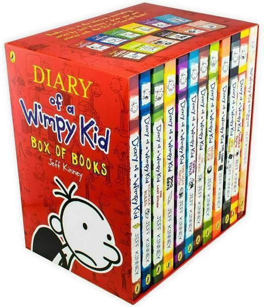 Diary Of A Wimpy Kid Box Set Collection - 12 Books (English, Paperback, Jeff Kinney)