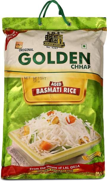 LAL QILLA Traditional Golden Chhap 5Kg - Gluten free Basmati Rice