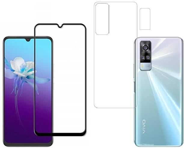 Vatsin Front and Back Tempered Glass for Vivo Y31